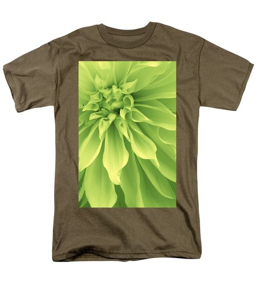 Green Sherbet Men's T-Shirt  (Regular Fit) by Bruce Bley