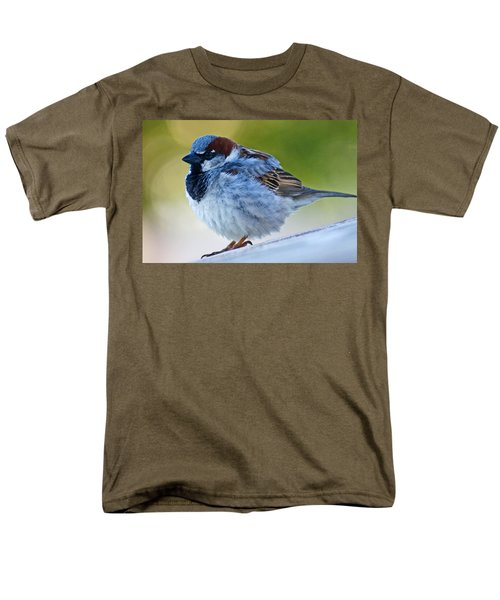 Men's T-Shirt  (Regular Fit) featuring the photograph Guard Bird by Colleen Coccia