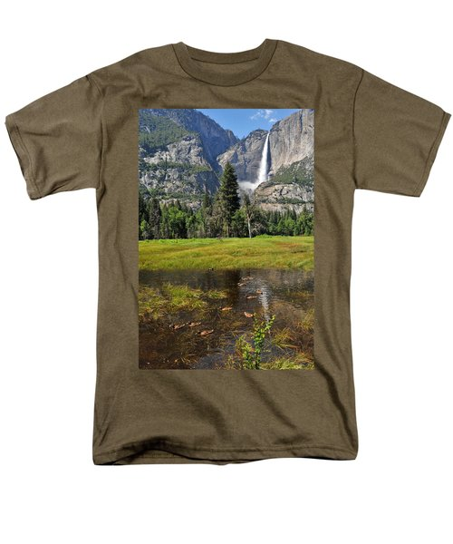 Men's T-Shirt  (Regular Fit) featuring the photograph Happy Campers by Lynn Bauer