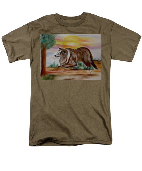 Herding Collie Men's T-Shirt  (Regular Fit) by Maria Urso