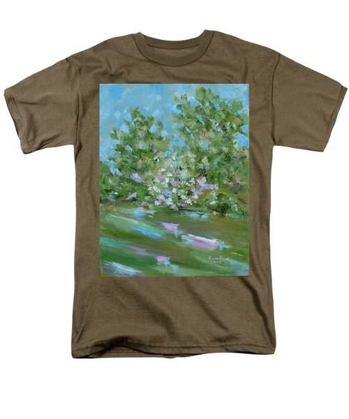 Men's T-Shirt  (Regular Fit) featuring the painting Hilltop by Judith Rhue