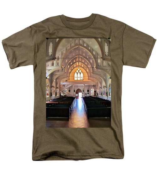 Holy Rosary 2 Men's T-Shirt  (Regular Fit) by Dawn Eshelman