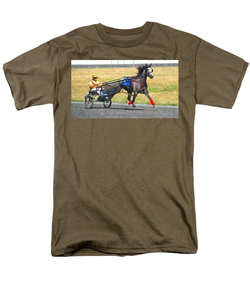 Men's T-Shirt  (Regular Fit) featuring the photograph Hooray For The Gray by Alice Gipson