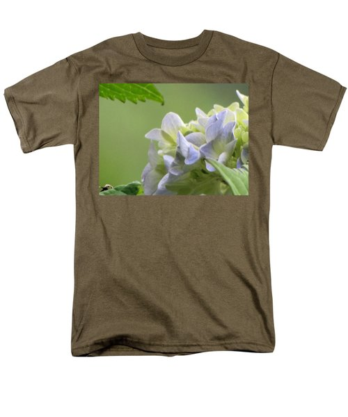 Men's T-Shirt  (Regular Fit) featuring the photograph Hydrangea Blossom by Katie Wing Vigil