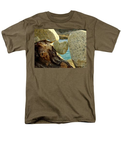 In The Heart Of Things Men's T-Shirt  (Regular Fit) by Lainie Wrightson