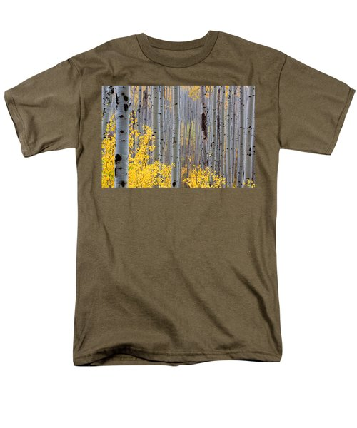 Men's T-Shirt  (Regular Fit) featuring the photograph In The Thick Of Things by Jim Garrison