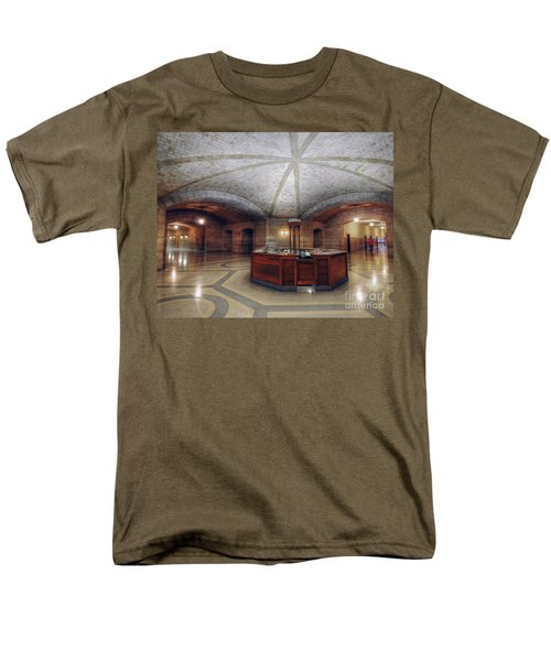 Men's T-Shirt  (Regular Fit) featuring the photograph Info Desk by Art Whitton