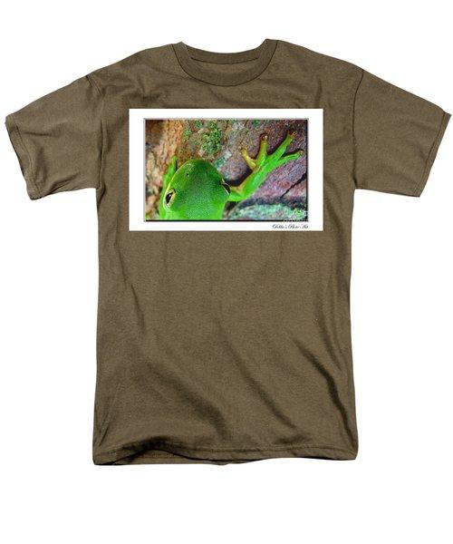 Men's T-Shirt  (Regular Fit) featuring the photograph Kermit's Kuzin by Debbie Portwood