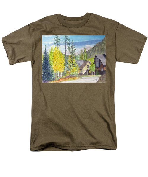 Men's T-Shirt  (Regular Fit) featuring the painting Keystone Co by Carol Flagg