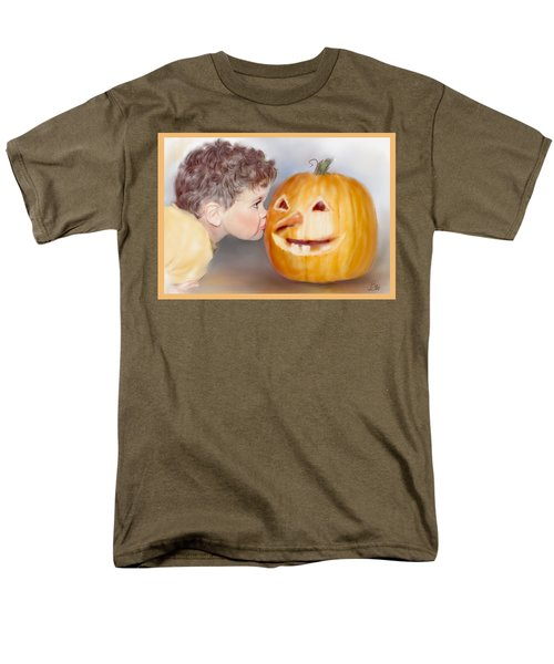 Men's T-Shirt  (Regular Fit) featuring the painting Kissy Face by Bonnie Willis