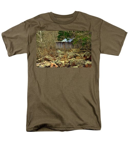 Men's T-Shirt  (Regular Fit) featuring the photograph Klepzig Mill by Marty Koch