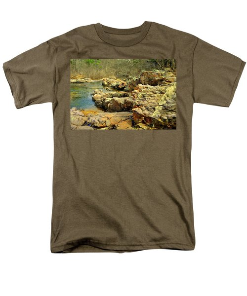 Men's T-Shirt  (Regular Fit) featuring the photograph Klepzig Shut In by Marty Koch