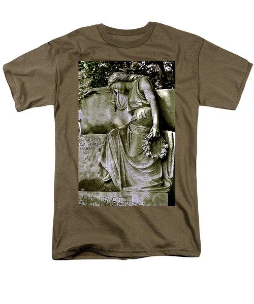 Left In Peace Men's T-Shirt  (Regular Fit) by Valerie Rosen