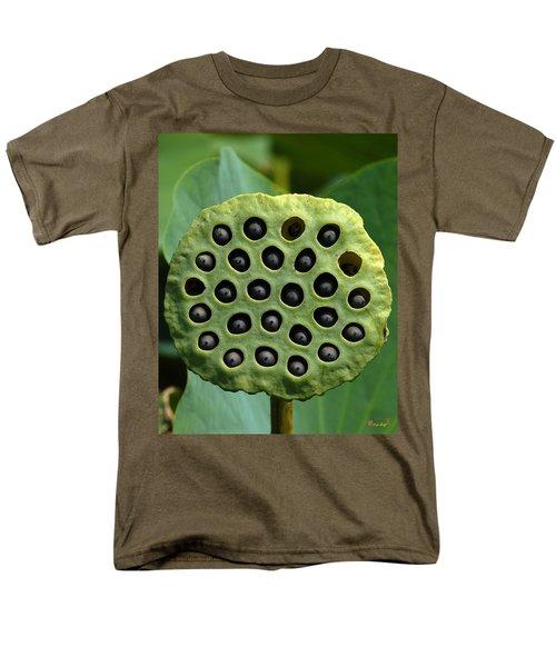 Lotus Capsule-missing Children Dl054 Men's T-Shirt  (Regular Fit) by Gerry Gantt