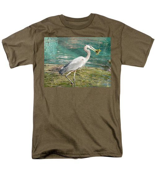 Men's T-Shirt  (Regular Fit) featuring the photograph Lunchtime by Laurel Best