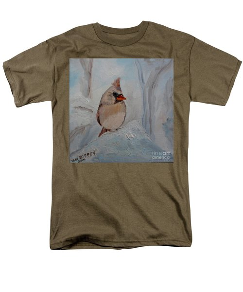 Men's T-Shirt  (Regular Fit) featuring the painting Mama's On Her Way Home by Julie Brugh Riffey