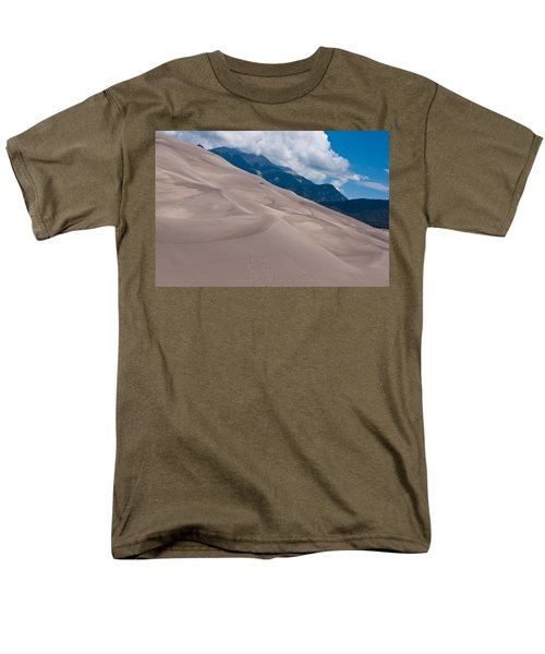 Men's T-Shirt  (Regular Fit) featuring the photograph Miles Of Sand by Colleen Coccia