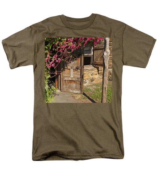Men's T-Shirt  (Regular Fit) featuring the photograph Mission San Jose 3 by Susan Rovira