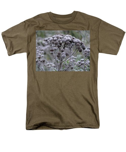 Men's T-Shirt  (Regular Fit) featuring the photograph Morning Frost by Tiffany Erdman