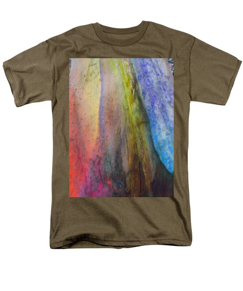 Men's T-Shirt  (Regular Fit) featuring the digital art Move On by Richard Laeton
