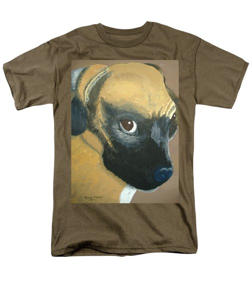 Men's T-Shirt  (Regular Fit) featuring the painting My Name Is Attitude by Norm Starks