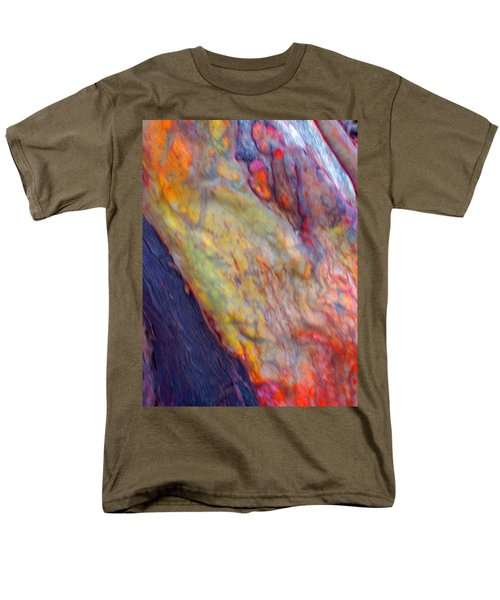 Men's T-Shirt  (Regular Fit) featuring the digital art Mystics Of The Night by Richard Laeton