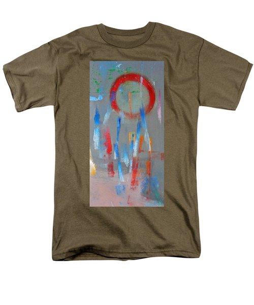 Native American Abstract Men's T-Shirt  (Regular Fit) by Charles Stuart