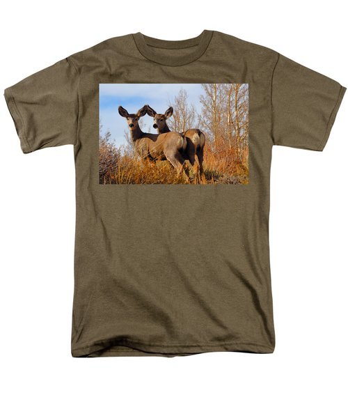 Men's T-Shirt  (Regular Fit) featuring the photograph Nature's Gentle Beauties by Lynn Bauer