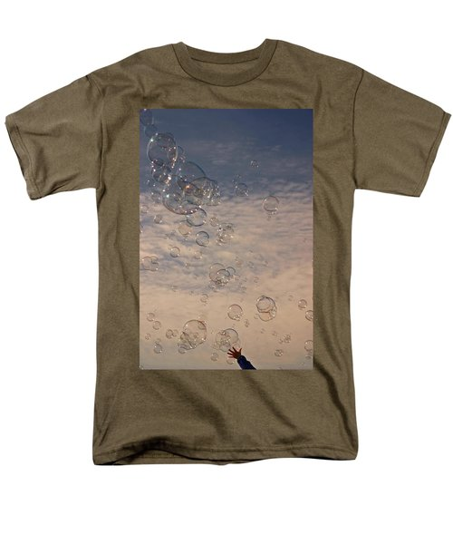 Men's T-Shirt  (Regular Fit) featuring the photograph Never Give Up by Jeannette Hunt