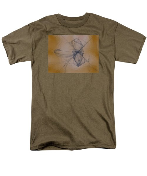 Men's T-Shirt  (Regular Fit) featuring the digital art Nuoretta by Jeff Iverson