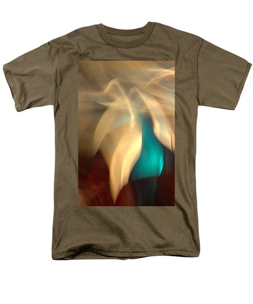 Men's T-Shirt  (Regular Fit) featuring the mixed media O'keefe II by Terence Morrissey