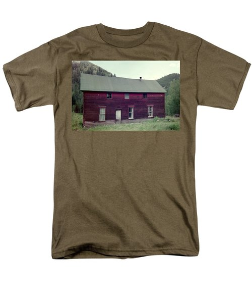 Men's T-Shirt  (Regular Fit) featuring the photograph Old Hotel by Bonfire Photography