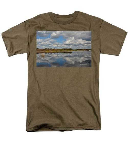 Partly Cloudy Men's T-Shirt  (Regular Fit) by Carol  Bradley