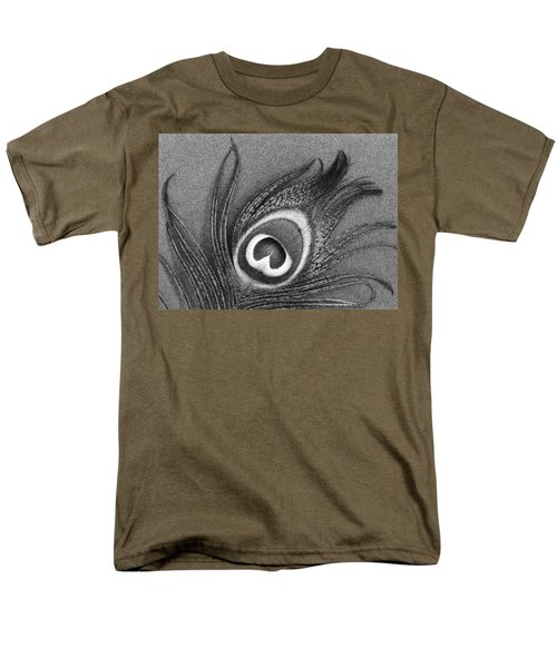 Peacock Feather Men's T-Shirt  (Regular Fit) by Mark Greenberg