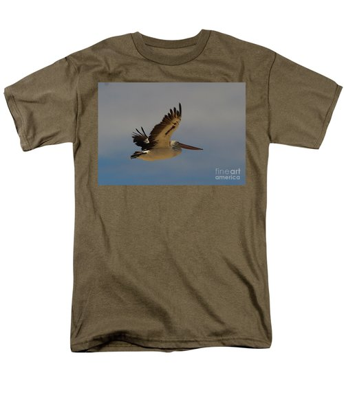 Men's T-Shirt  (Regular Fit) featuring the photograph Pelican In Flight 5 by Blair Stuart