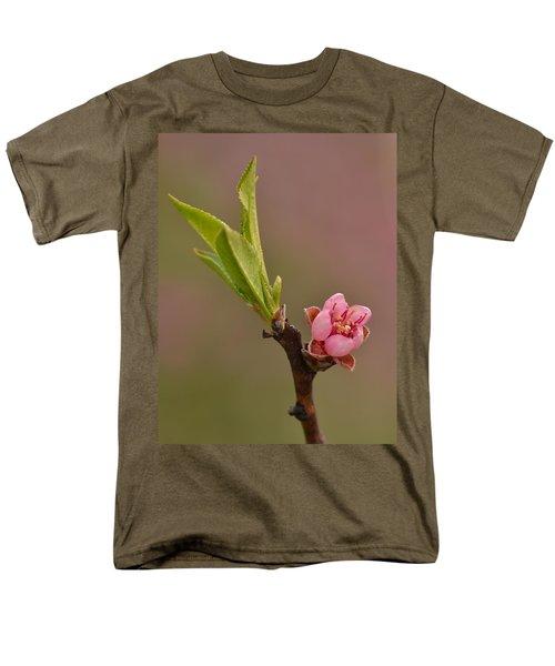 Petite Peach Men's T-Shirt  (Regular Fit) by JD Grimes