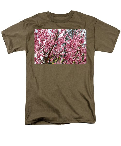 Men's T-Shirt  (Regular Fit) featuring the photograph Pink Flood by Fotosas Photography