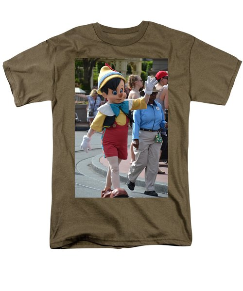 Pinocchio Men's T-Shirt  (Regular Fit) by Bonnie Myszka