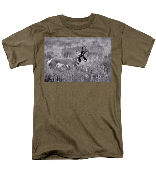 Men's T-Shirt  (Regular Fit) featuring the photograph Pronghorn  by Eric Tressler