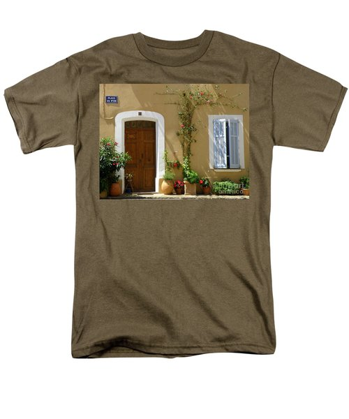 Provence Door 3 Men's T-Shirt  (Regular Fit) by Lainie Wrightson