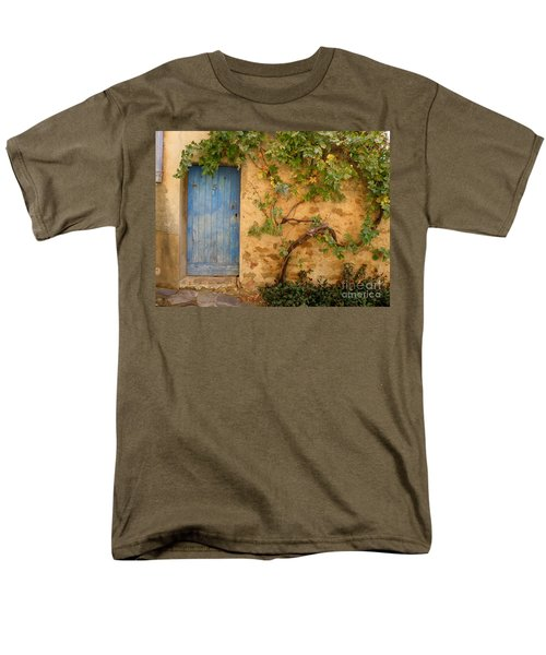 Provence Door 5 Men's T-Shirt  (Regular Fit) by Lainie Wrightson