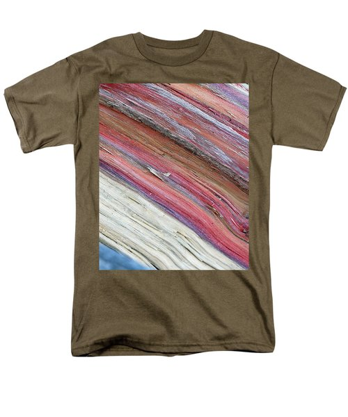Men's T-Shirt  (Regular Fit) featuring the photograph Rainbow Wood by Lisa Phillips