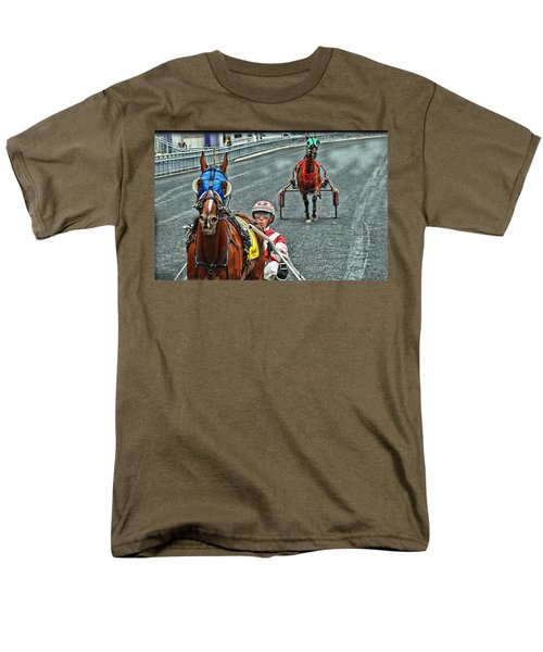 Men's T-Shirt  (Regular Fit) featuring the photograph Ready To Race by Alice Gipson