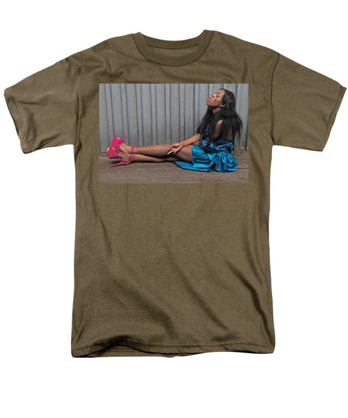 Men's T-Shirt  (Regular Fit) featuring the photograph Red Stilettos by Alice Gipson