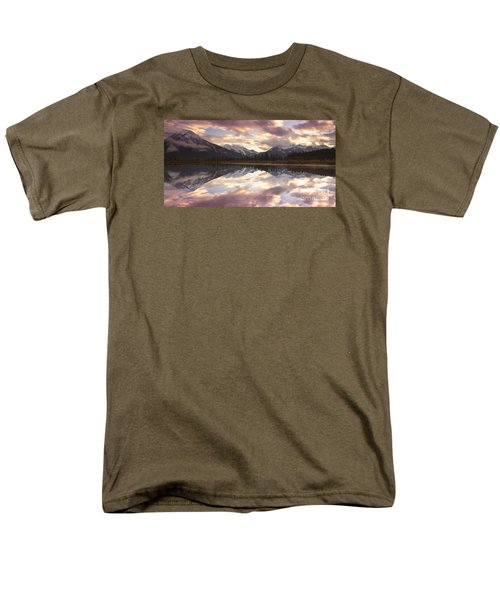 Reflecting Mountains Men's T-Shirt  (Regular Fit) by Keith Kapple