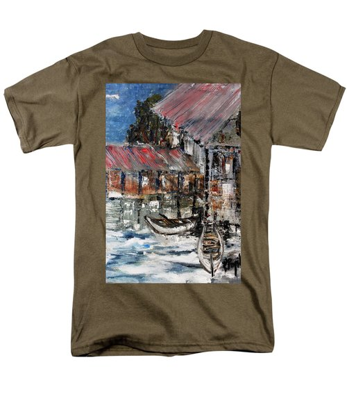 Men's T-Shirt  (Regular Fit) featuring the painting Resting by Evelina Popilian