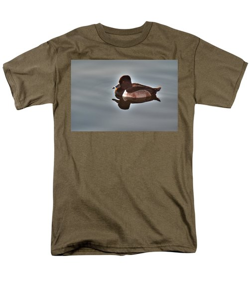 Men's T-Shirt  (Regular Fit) featuring the photograph Ring-necked Duck by Tam Ryan