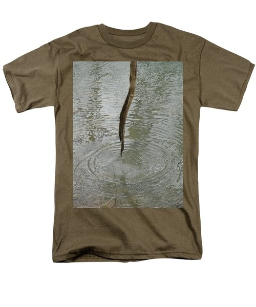Men's T-Shirt  (Regular Fit) featuring the photograph Ripples by Tiffany Erdman