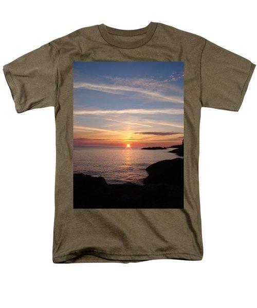 Men's T-Shirt  (Regular Fit) featuring the photograph Rising Sun by Bonfire Photography