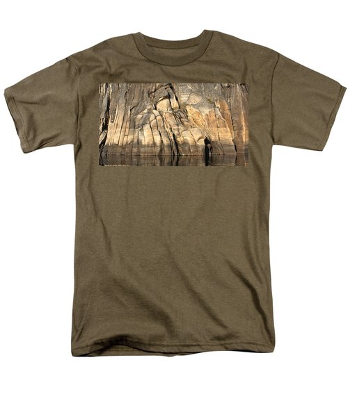 Rock Paws Men's T-Shirt  (Regular Fit) by Cathie Douglas